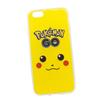 Силиконовый чехол-накладка для Apple iPhone 6, 6S (0L-00029479) (Pokemon Go Пикачу морда) - Чехол для телефонаЧехлы для мобильных телефонов<br>Силиконовый чехол-накладка для Apple iPhone 6, 6S поможет защитить Ваш мобильный телефон от царапин, потертостей и других нежелательных повреждений.<br>
