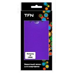 Чехол-накладка для Samsung Galaxy J7 (2016) SM-J710 (TFN CC-05-014TPUPU) (фиолетовый)