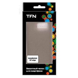 Чехол-накладка для Samsung Galaxy S7 Edge (TFN CC-05-015TPUFU) (серый)