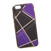 Силиконовый чехол-накладка для Apple iPhone 6, 6S (0L-00029568) (сиреневая клетка, золотистый) - Чехол для телефонаЧехлы для мобильных телефонов<br>Силиконовый чехол-накладка для Apple iPhone 6, 6S поможет защитить Ваш мобильный телефон от царапин, потертостей и других нежелательных повреждений.<br>