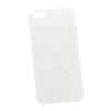 Силиконовый чехол-накладка для Apple iPhone 6, 6S (0L-00029600) (цветочный узор, белый) - Чехол для телефонаЧехлы для мобильных телефонов<br>Силиконовый чехол-накладка для Apple iPhone 6, 6S поможет защитить Ваш мобильный телефон от царапин, потертостей и других нежелательных повреждений.<br>