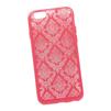 Силиконовый чехол-накладка для Apple iPhone 6, 6S (0L-00029599) (цветочный узор, красный) - Чехол для телефонаЧехлы для мобильных телефонов<br>Силиконовый чехол-накладка для Apple iPhone 6, 6S поможет защитить Ваш мобильный телефон от царапин, потертостей и других нежелательных повреждений.<br>
