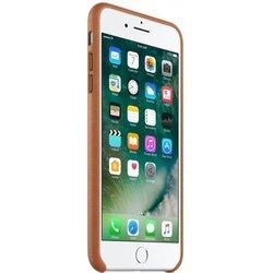Чехол-накладка для Apple iPhone 7 Plus (Apple Leather Case MMYF2ZM/A) (коричневый)