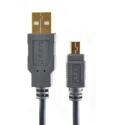 кабель usb am-miniusb 5p m 1.8м (belsis sg1194) (черный)
