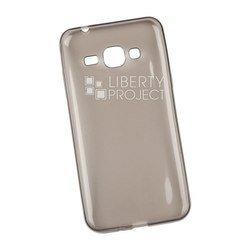 Силиконовый чехол-накладка для Samsung Galaxy J1 2016 (0L-00029799) (серый)