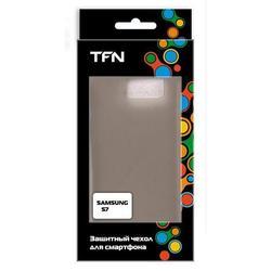 Чехол-накладка для Samsung Galaxy S7 (TFN CC-05-012TPUFU) (серый)
