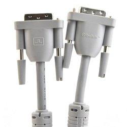 Кабель DVI-D-DVI-D 3м (Belsis BW1471) (белый)