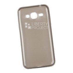 Силиконовый чехол-накладка для Samsung Galaxy J3 2016 (0L-00029802) (серый)