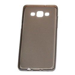 Силиконовый чехол-накладка для Samsung Galaxy A3 2016 (98060) (черный)