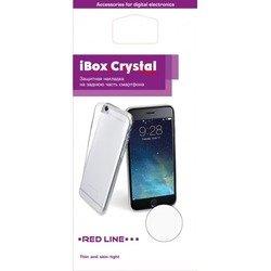 Силиконовый чехол-накладка для LG K3 (iBox Crystal YT000009306) (прозрачный)