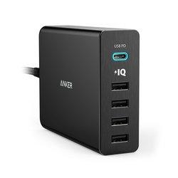 Сетевое зарядное устройство Anker Powerport+ 5 (A2053311) (черный)