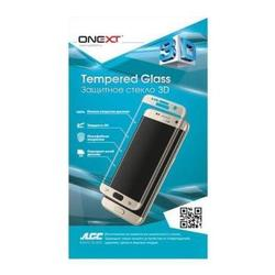 Защитное стекло для Samsung Galaxy Note 7 (Onext 3D 41152) (черная рамка)