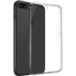 Чехол-накладка для Apple iPhone 7 Plus (Ozaki O!coat Crystal+ OC747BK) (прозрачный, черный)