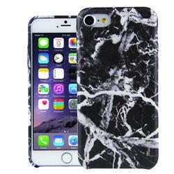 Чехол-накладка для Apple iPhone 7 (Uniq Marbre IP7HYB-MARBLK) (черный)