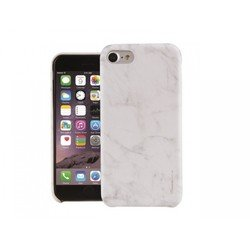 Чехол-накладка для Apple iPhone 7 (Uniq Marbre IP7HYB-MARWHT) (белый)