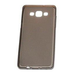 Силиконовый чехол-накладка для Sony Xperia M5 E5603 (98102) (черный)
