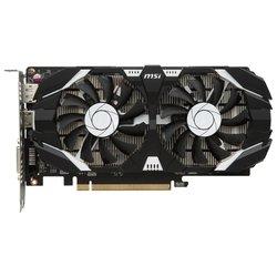 MSI GeForce GTX 1050 Ti 1341Mhz PCI-E 3.0 4096Mb 7008Mhz 128 bit DVI HDMI HDCP OC Dual Fans RTL