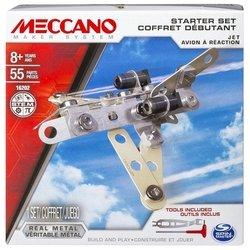 Meccano STEM 16202 Реактивный самолет