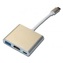 Кабель USB (C)-HDMI-USB3.1-USB (C) (Palmexx PX/HUB USBC-HDMI-USB)