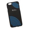Чехол-накладка для Apple iPhone 6, 6S (Cococ 0L-00029708) (черный, синие круги) - Чехол для телефонаЧехлы для мобильных телефонов<br>Чехол-накладка плотно облегает заднюю крышку телефона и гарантирует ее надежную защиту от пыли, царапин, потертостей и других вешних воздействий.<br>