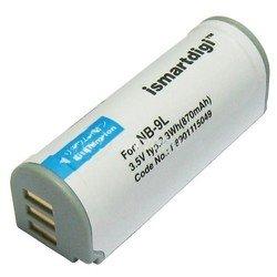 Аккумулятор для Canon SD4500IS, IXUS 1000 HS, 1000HS, 1100 HS, IXY 1, 3, 50S, 51S, PowerShot ELPH 510 HS, ELPH 520 HS, ELPH 530 HS, SD4500 IS (iSmartdigi PVB-009)