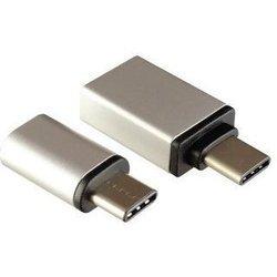 Переходники USB 3.1 Type-C - microUSB  + USB 3.1 Type-C - USB 3.0 (Ginzzu GC-885S)