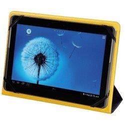 """Универсальный чехол-книжка для планшетов 7"""" (Hama TwoTone 00123093) (синий, желтый)"""