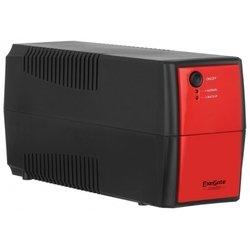 ExeGate Power Back BNB 400 (черно-красный)