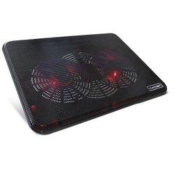 """Подставка для ноутбука до 17"""" (Crown CMLC-202T) (черный)"""