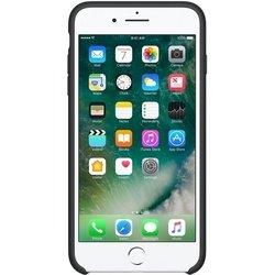 Чехол-накладка для Apple iPhone 7 Plus (Apple Silicone Case MMQR2ZM/A) (черный)