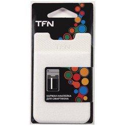 Карман-наклейка для смартфонов (TFN PO-02P-WT) (белый)