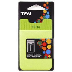 Карман-наклейка для смартфонов (TFN PO-02P-LG) (зеленый)