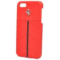 Чехол-накладка для Apple iPhone 5, 5S (Ferrari California Hard FECFIP5R) (красный)