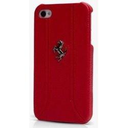 Чехол-накладка для Apple iPhone 5, 5S (Ferrari Hard FF-Collection FEFFHCP5RE) (красный)