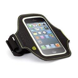 Спортивный чехол на руку для Apple iPhone 5, 5S, iPod Touch 5gen (Griffin Trainer GB36033) (черный)
