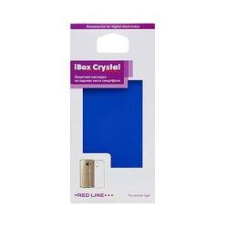 Силиконовый чехол-накладка для Asus Zenfone C ZC451CG (iBox Crystal YT000007751) (синий)