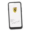 Чехол-накладка для Apple iPhone 6, 6S (Ferrari 0L-00029880) (прозрачный, черный кант) - Чехол для телефонаЧехлы для мобильных телефонов<br>Чехол-накладка плотно облегает заднюю крышку телефона и гарантирует ее надежную защиту от пыли, царапин, потертостей и других вешних воздействий.<br>