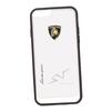 Чехол-накладка для Apple iPhone 6, 6S (Lamborghini 0L-00029898) (прозрачный, белый кант)  - Чехол для телефонаЧехлы для мобильных телефонов<br>Чехол-накладка плотно облегает заднюю крышку телефона и гарантирует ее надежную защиту от пыли, царапин, потертостей и других вешних воздействий.<br>
