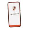 Чехол-накладка для Apple iPhone 6, 6S (Porsche 0L-00029895) (прозрачный, красный кант) - Чехол для телефонаЧехлы для мобильных телефонов<br>Чехол-накладка плотно облегает заднюю крышку телефона и гарантирует ее надежную защиту от пыли, царапин, потертостей и других вешних воздействий.<br>