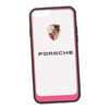 Чехол-накладка для Apple iPhone 6, 6S (Porsche 0L-00029894) (прозрачный, розовый кант) - Чехол для телефонаЧехлы для мобильных телефонов<br>Чехол-накладка плотно облегает заднюю крышку телефона и гарантирует ее надежную защиту от пыли, царапин, потертостей и других вешних воздействий.<br>
