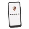 Чехол-накладка для Apple iPhone 6, 6S (Porsche 0L-00029891) (прозрачный, черный кант) - Чехол для телефонаЧехлы для мобильных телефонов<br>Чехол-накладка плотно облегает заднюю крышку телефона и гарантирует ее надежную защиту от пыли, царапин, потертостей и других вешних воздействий.<br>