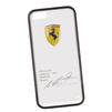 Чехол-накладка для Apple iPhone 5, 5S (Ferrari 0L-00029866) (прозрачный, белый кант) - Чехол для телефонаЧехлы для мобильных телефонов<br>Чехол-накладка плотно облегает заднюю крышку телефона и гарантирует ее надежную защиту от пыли, царапин, потертостей и других вешних воздействий.<br>