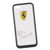 Чехол-накладка для Apple iPhone 5, 5S (Ferrari 0L-00029865) (прозрачный, черный кант) - Чехол для телефонаЧехлы для мобильных телефонов<br>Чехол-накладка плотно облегает заднюю крышку телефона и гарантирует ее надежную защиту от пыли, царапин, потертостей и других вешних воздействий.<br>