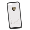 Чехол-накладка для Apple iPhone 5, 5S (Lamborghini 0L-00029875) (прозрачный, черный кант)  - Чехол для телефонаЧехлы для мобильных телефонов<br>Чехол-накладка плотно облегает заднюю крышку телефона и гарантирует ее надежную защиту от пыли, царапин, потертостей и других вешних воздействий.<br>