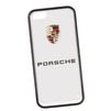 Чехол-накладка для Apple iPhone 5, 5S (Porsche 0L-00029871) (прозрачный, белый кант) - Чехол для телефонаЧехлы для мобильных телефонов<br>Чехол-накладка плотно облегает заднюю крышку телефона и гарантирует ее надежную защиту от пыли, царапин, потертостей и других вешних воздействий.<br>
