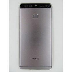 Задняя крышка для Huawei P9 с клавишей Home (100037) (черный) (1 категория Q)