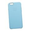 Силиконовый чехол-накладка для Apple iPhone 6, 6S (0L-00030135) (голубой) - Чехол для телефонаЧехлы для мобильных телефонов<br>Силиконовый чехол-накладка для Apple iPhone 6, 6S поможет защитить Ваш мобильный телефон от царапин, потертостей и других нежелательных повреждений.<br>