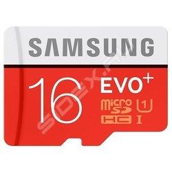 Samsung EVO Plus microSDHC 16GB Class 10 UHS-I (MB-MC16DA/RU)