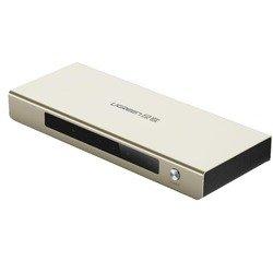 Разветвитель HDMI 19F / 2x19F (UGreen UG-40276) (серебрянный)