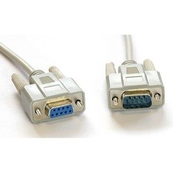 Кабель DB9(M) - DB9(F) 3.0 м (Greenconnect GCR-DB903-3m) (серый)